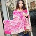Новые акриловые жаккардовые шарф платок теплая зима кондиционер Пашмины шарфы cachecol банданы хиджаб платки. Echarpe платок
