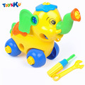 Nova chegada diy brinquedos para crianças brinquedo educativo brinquedo montado com braçadeira ferramenta e chave de fenda