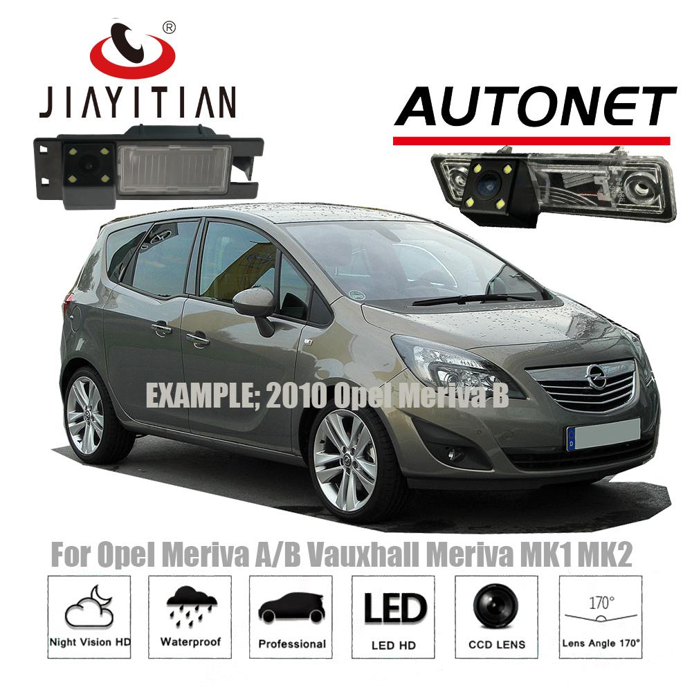JiaYiTian rear camera For Opel Meriva A Opel Meriva B Meriva series 2003~2017 CCD NightVision/backup camera license plate camera