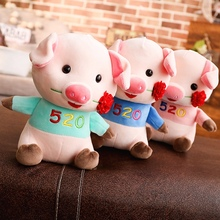 Hot Plush Baby Toys Stuffed Animal Kawaii Elephant Pig Hippo toy Kids Appease Sleeping Doll Room Decor Gift For Children Friends