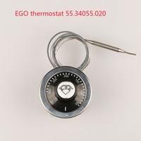 380 V EGO thermostaat 50-300 graden celsius 55.34055.020, over temperatuur beschermende verstelbare temperen schakelaar