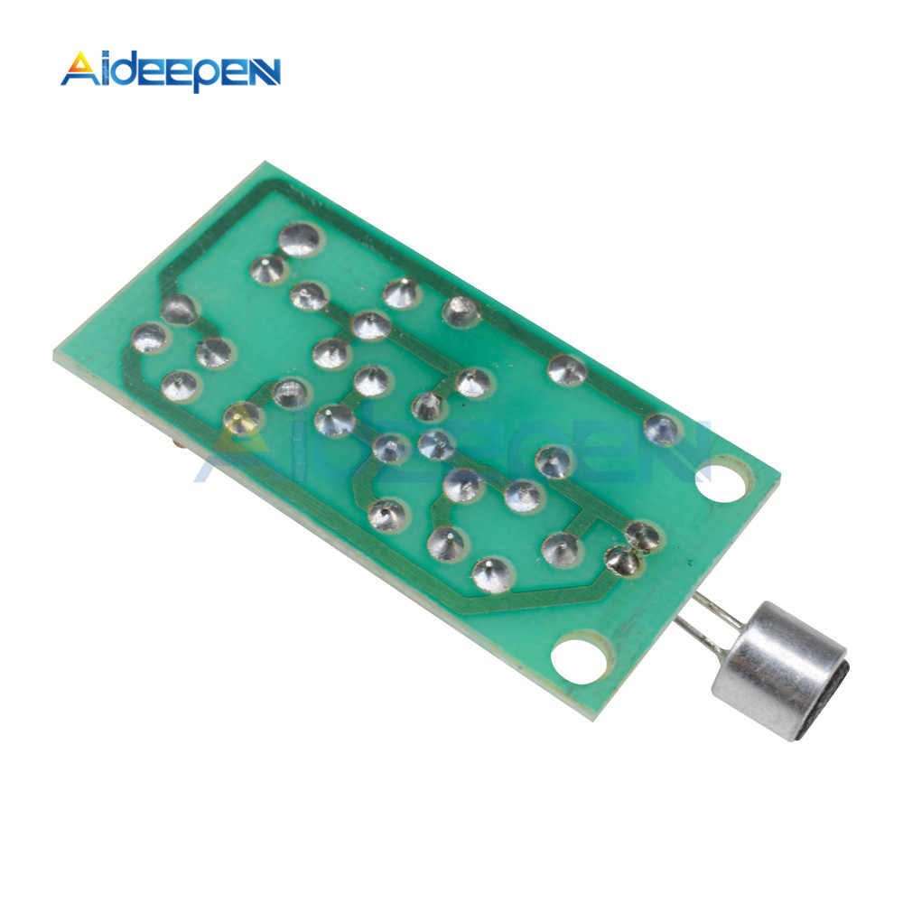 Módulo receptor transmisor FM Mini micrófono inalámbrico regulación de radiofrecuencia tablero de sonido ajustable DC 3V 5V