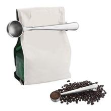 Многофункциональные кухонные принадлежности для чая, кофе, мерный стакан, ложка для кофе, ложка для кофе, ложка с зажимом из нержавеющей стали