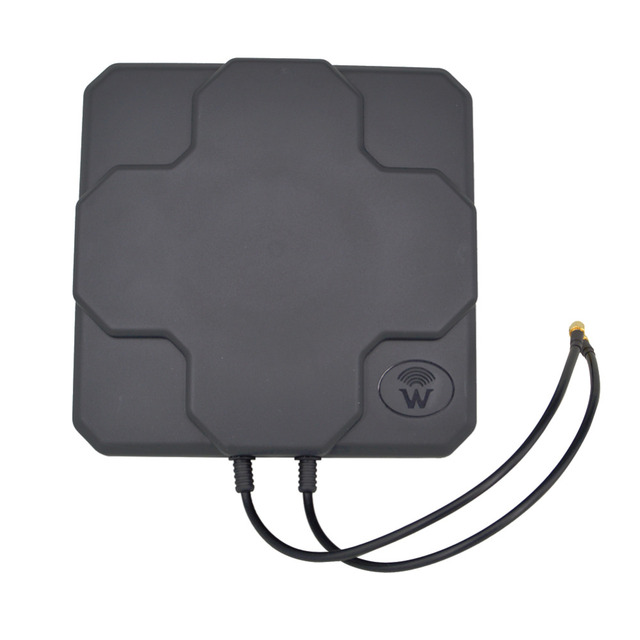 4G антенны Открытый Панель 18dbi высокого усиления 698-2690 мГц 4G LTE Антенна направленного MIMO внешних антенн для Беспроводной маршрутизатор