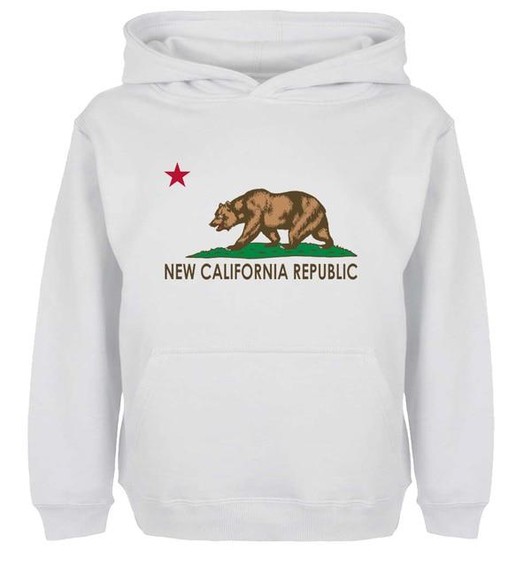 b01e8443 Unisex Fashion Call For FNV NCR Flag NIA California Design Hoodie Men's  Boy's Women's Girl's Sweatshirt Tops Printed Hoody
