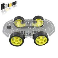 B01 Motor Robot Car Stand 1 48 Double Strong Smart Car Chassis For 4wd 4 Wheels