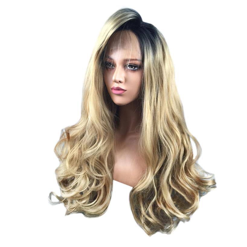 New Fashion Wig Purple Synthetic Hair Long Wigs Wave Curly Wig+Cap 0621 long curly lolita japanese hair mixed blonde purple high temperature synthetic wigs for women big wavy cosplay wig