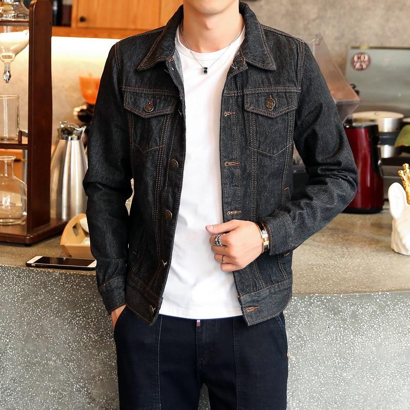 Closeout DealsDIMUSI Denim Jacket Jeans Bomber Cowboy Fashion Mens Spring Ripped Thin Male Autumn 4XL