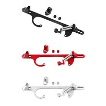 цена 4150 4160 Series Billet Aluminum Throttle Cable Carb Bracket Carburetor 350 онлайн в 2017 году