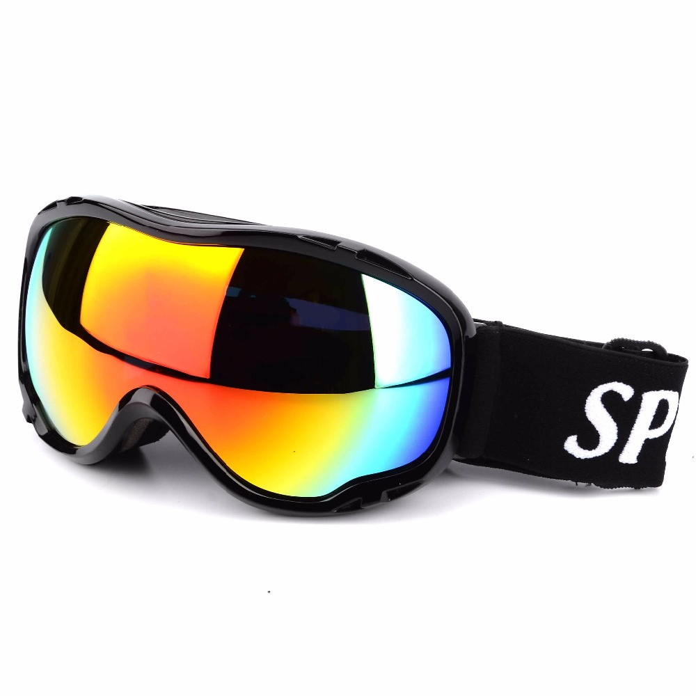New UV400 Snowmobile Sports Goggles Double Layers Ski Snow Goggle Windproof Anti-fog Protective Spectacles for Men and Women