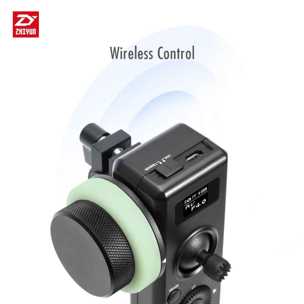 ZHIYUN Original Motion Sensor Remote Control with Follow Focus for Crane 2 Handheld Camera Gimbal in Gimbal Accessories from Consumer Electronics