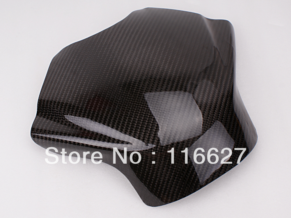 Freeshipping Carbon Fiber Fuel Gas Tank Protector Pad Shield For YAMAHA YZF-R6 2008-2012 arashi carbon fiber gas tank cover pad protector for honda cbr600 rr 2007 2008 2009 2010 2011 2012 accessories fuel case