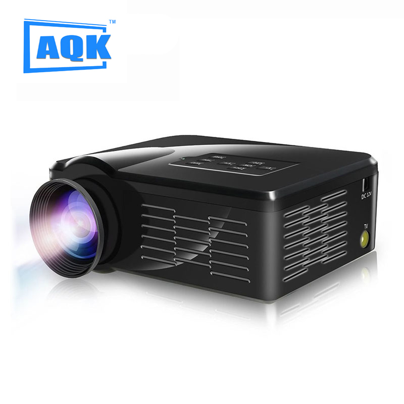 In Stock Korean ! 2015 New UC40 Projector Mini Pico portable proyector Projector AV A/V USB & SD HDMI Projector Wholesale