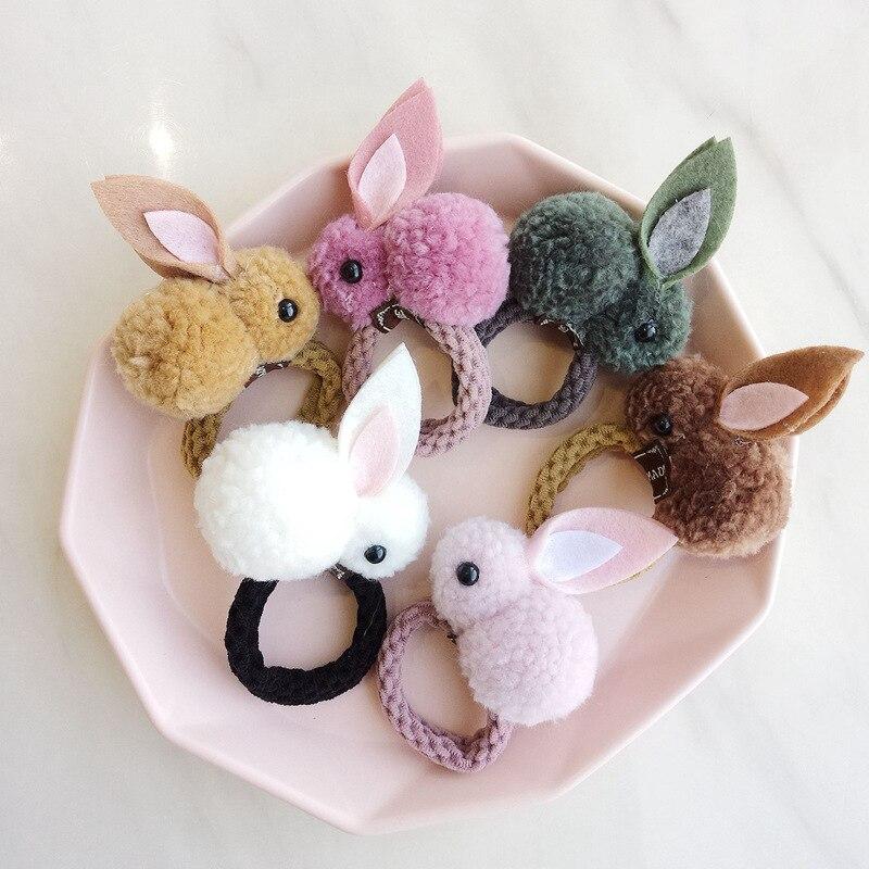 Hot Sale Baby Girl Bunny Hairbands Sweet Cartoon Rabbit -7847