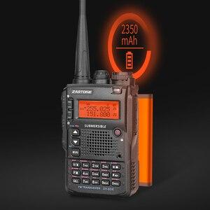 Image 2 - Zastone UV 8DR מיני רדיו VHF 136 174MHz UHF 400 520MHz CB רדיו חם 128 ערוץ שתי דרך רדיו Comunicador telsiz