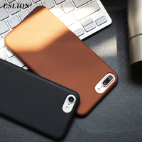 USLION Phone Case Bags Fashional Frosted Matte Design Covers for iPhone 7 7 Plus High Quality Soft TPU Back Cases For iPhone7
