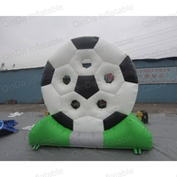 3m Height Inflatable Foot Darts Games Inflatable Soccer Darts Targets Shooting Soccer Goal Post For Playstation Games