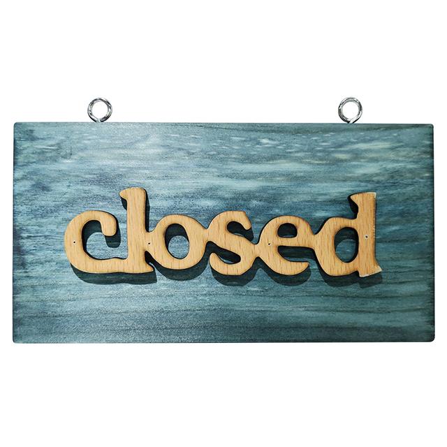 Wooden Vintage Styled Hanging Sign