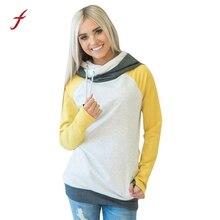 Womens Loose Casual Long Sleeve Hoodie Sweatshirts 2017 female Fashion zipper Jumper Pullover Sweatshirt Blouse Tops Moletom
