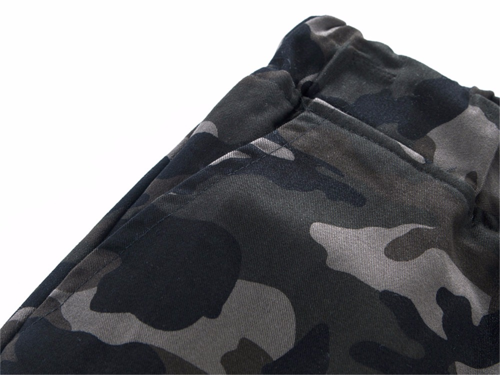 Mens Jogger 2019 Autumn 100% Cotton Harem Pants Men Camouflage Military Pants Loose Comfortable Cargo Trousers Camo Jogger