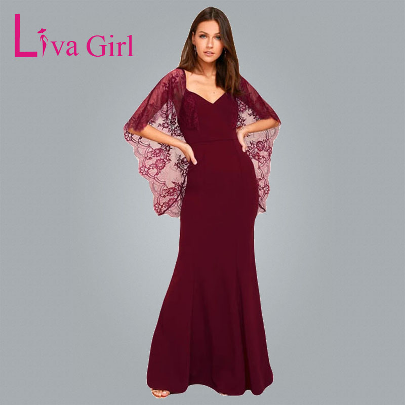 Liva Girl Top Quality Diamonds Dress Chiffon Bridesmaid Backless ...