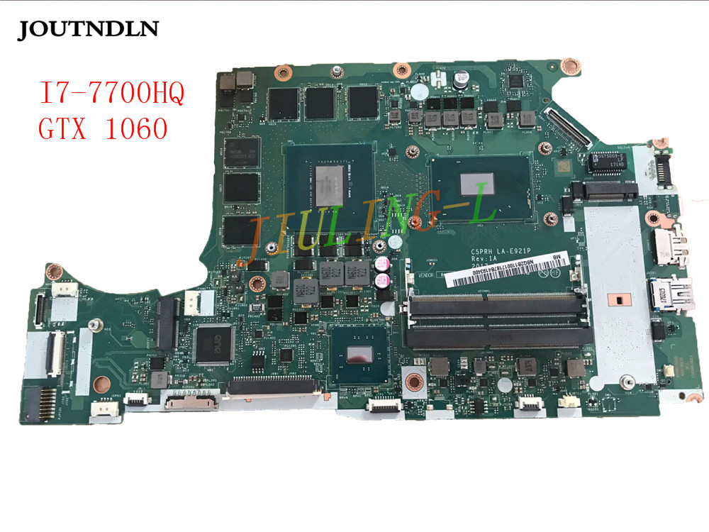 Us 725 75 13 Off Joutndln For Acer Predator Helios 300 G3 571 Laptop Motherboard Sr32q I7 7700hq Cpu And Gtx 1060 Ddr4 Nbq2b11001 C5prh La E921p In