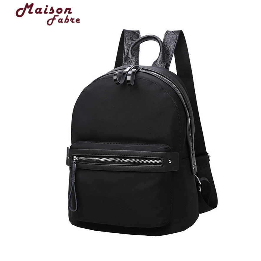 Leather Backpack Large Capacity Black Shoulder Bag Women Casual Backpack Teenage Girls School Travel Bags 1010#23