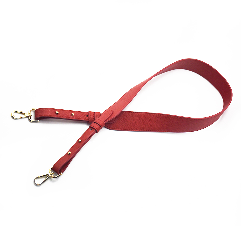96cm Bag Straps Handbag Straps Replacement Parts Bag Belts Leather DIY Handmade Red Handles for Womens Shoulder Bags Accessories