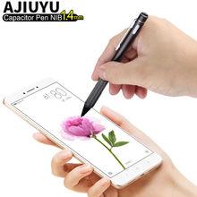 Aktif kalem kapasitif dokunmatik ekran kalem Apple iPhone X XS XR XS Max 8 7 6 6S artı 5 5s stylus kalem cep telefonu kılıfı ucu 1.4mm