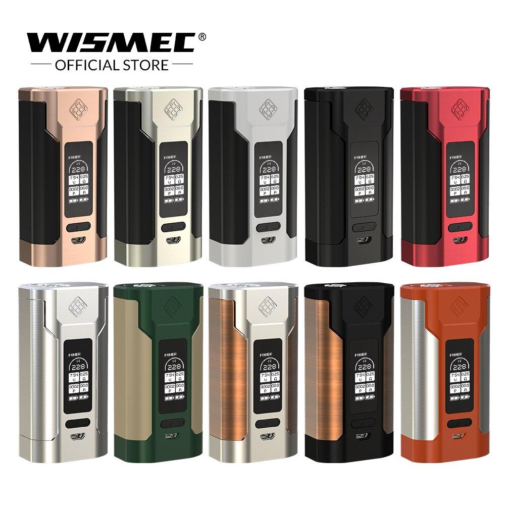 [Boutique officielle] D'origine Wismec Sinueux P228 TC Boîte Mod Sortie 228 w sortie Mod Boîte Électronique cigarette vaporisateur mod fit elabo réservoir