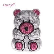 Fawziya Bär Tasche Bear Cute Geldbörsen Mit Strass Kristall Handtasche