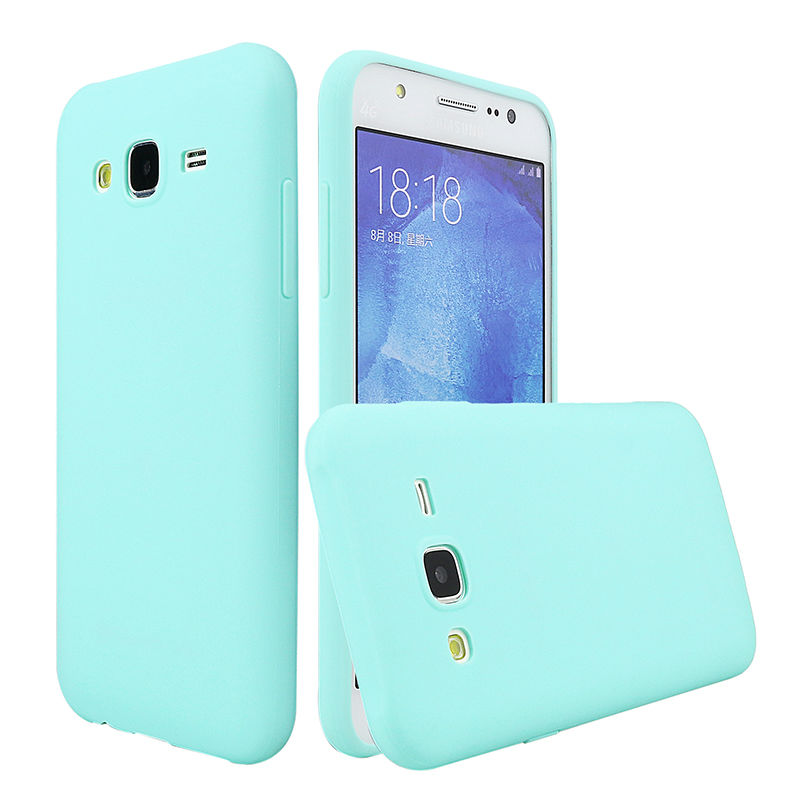 Phone Case For Samsung Galaxy J5 2015 J500 Cover Silicone Ultra Thin Soft Cute Colors TPU Back Case For Samsung J5 2015