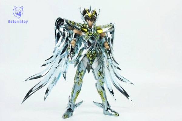 in stock Great Toys Pegasus seiya V4 GT EX god cloth EX metal armor bronze Saint Seiya action figure toy allen roth brinkley handsome oil rubbed bronze metal toothbrush holder