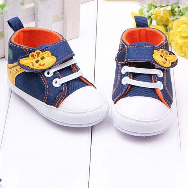 Lovely Baby Infant Toddler Boy Girl Sneaker Soft Sole Shoes Prewalker
