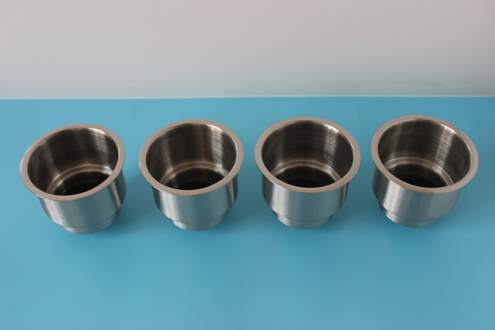 4 Piece Lamp Marine Boat Car For Camper Stainless Steel Cup Shape Drink Holder Atv,rv,boat & Other Vehicle