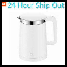 Cheapest Original Xiaomi Mijia Thermostatic Electric Kettles 1.5L 12 Hours Thermostat kettle Smart Control by Mobile Phone App