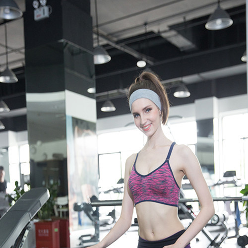 bf07154ed3 Hot sell Yoga Fitness Quick Drying bustier Top sports Women wearing bra  active Striped soutien gorge sport for girls