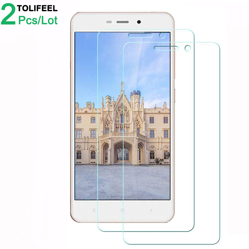 2Pcs Tempered Glass For Xiaomi Redmi 4A 4X Screen Protector 9H 2.5D Phone On Protective Glass For Xiaomi Redmi 4X 4A Glass