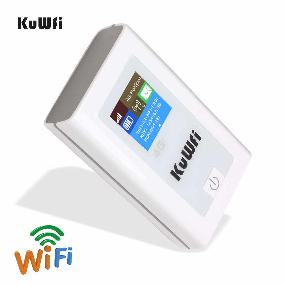Image 5 - Unlocked 4G Wifi Router 150Mbps 3G 4G Lte Wireless Hotspot Mifi Dongle Car Wi fi Router With Sim Card Slot 5200MAh Power Bank-in 3G/4G Routers from Computer & Office