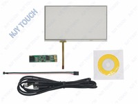 7 Inch 4 Wire Universal LCD Touch Screen Panel AA292A 164.9x100mm Plus USB Controller kit