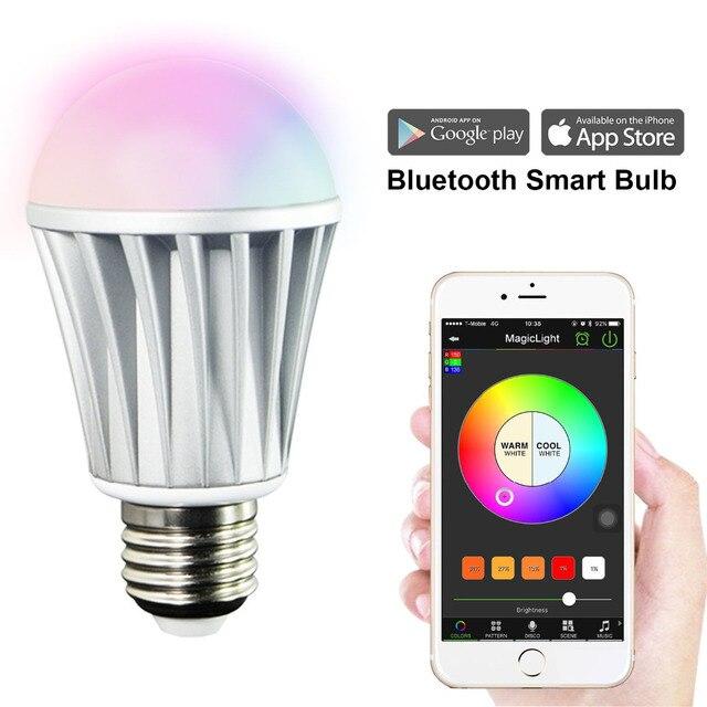 MagicLight Bluetooth Smart LED Glühbirne Smartphone Gesteuert Sonnenaufgang  Aufwachen Lichter Dimmbare Bunten Farbwechsel