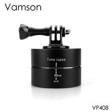 Vamson pour accessoires GoPro 60 min stabilisateur de décalage horaire rotatif 360 degrés pour Gopro Hero 5 4 3 + pour Xiaomi VP408