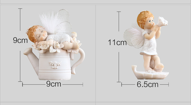 Cute Baby Angel Figurine (26)
