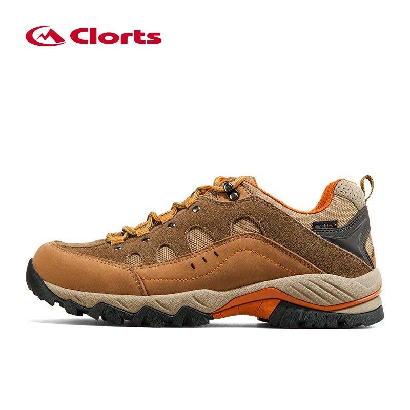 2016 Clorts для мужчин треккинговые ботинки HKL-815A/B непромокаемые Uneebtex обувь для пешего туризма резиновые спортивные спортивная обувь