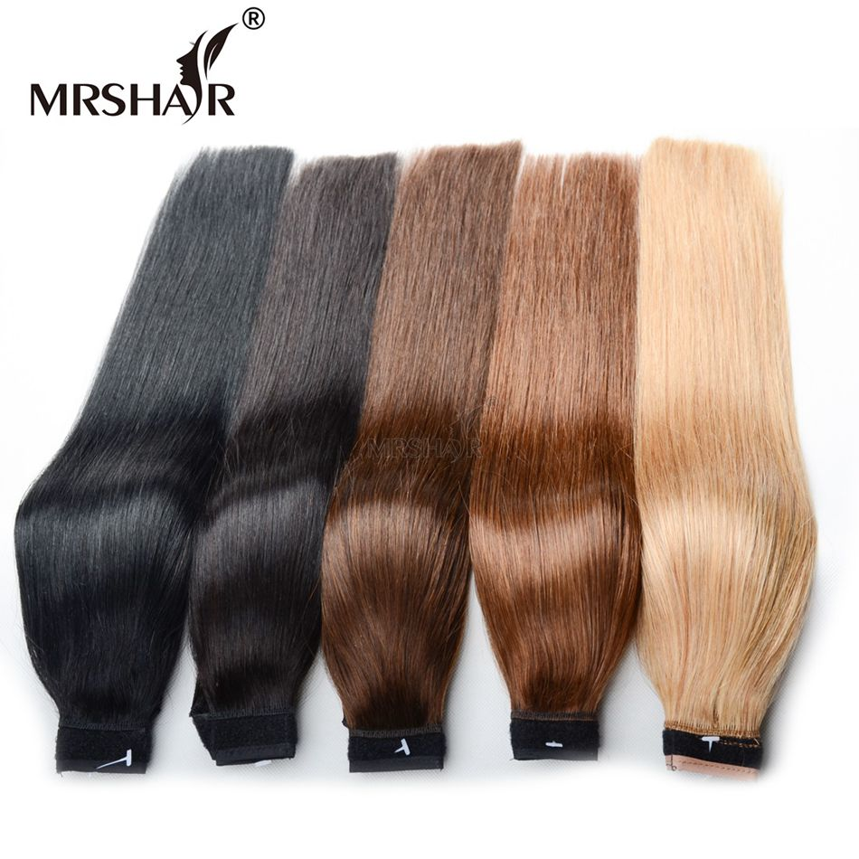 Mrshair 18 Inches Ponytail Human Hair Ponytails Extensions 120grams
