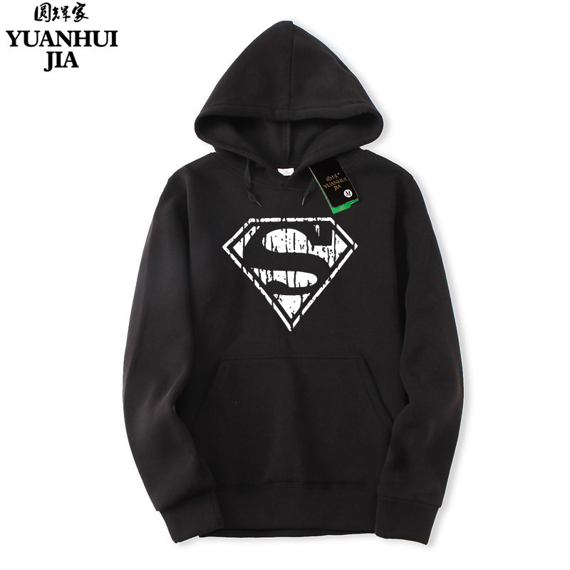 Superman New Hoodies Men Brand Designer Mens Sweatshirt Men with Luxury Harajuku Sweatshirt Men Brand M- XXL