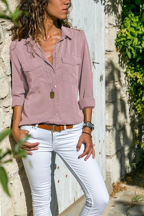 office blouse women plus size 5XL long sleeve blusas mujer de moda 2018 tallas grandes spring autumn shirt top women blouse7
