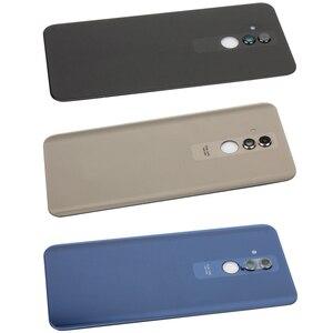 Image 5 - מקורי עבור Huawei Mate 20 Lite סוללה שיכון זכוכית + מצלמה זכוכית אחורי סוללה דלת כיסוי תיקון החלפת חלקי חילוף