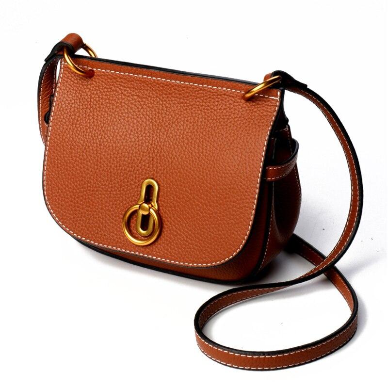 YUFANGกระเป๋าถือของผู้หญิงหนังแท้ไหล่กระเป๋าหญิงหรูหราคลาสสิกกระเป๋าสะพายสไตล์เลดี้ทุกวันผู้หญิงช้อปปิ้งกระเป๋า-ใน กระเป๋าสะพายไหล่ จาก สัมภาระและกระเป๋า บน   3