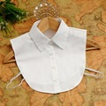2016 новое поступление насыщенный белый рубашки-фальшивка воротник женщин декоративные воротник, Sp048